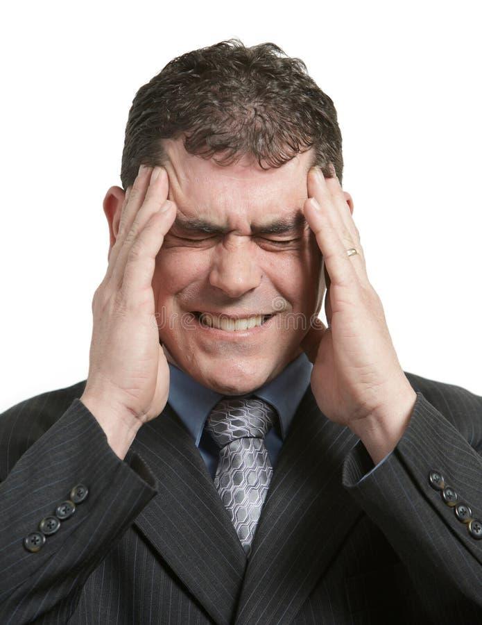 Download Headache stock photo. Image of caucasian, anxious, depression - 8732732