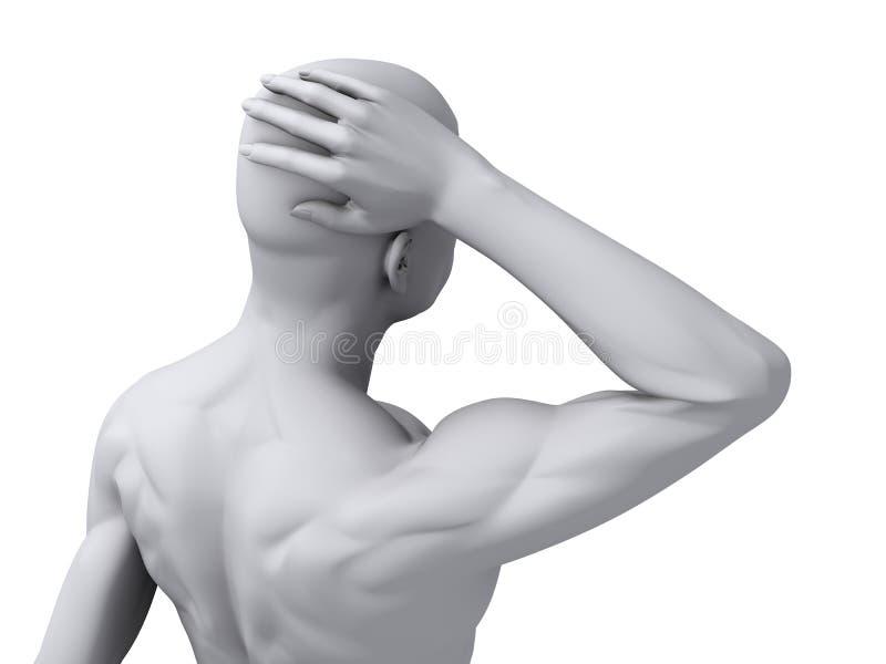 Download Headache/migraine Illustration Stock Photography - Image: 12499372