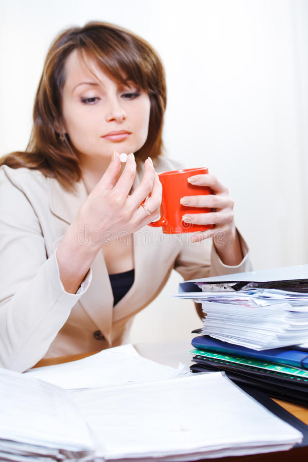 Download Headache pill stock photo. Image of overworked, representative - 24804630