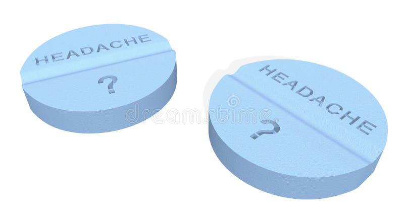 Download Headache pills stock illustration. Illustration of tablet - 2909677