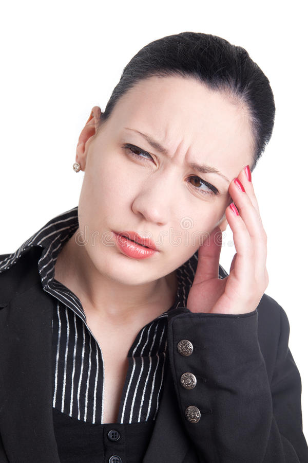 Download Headache at work stock photo. Image of work, black, pain - 21389802