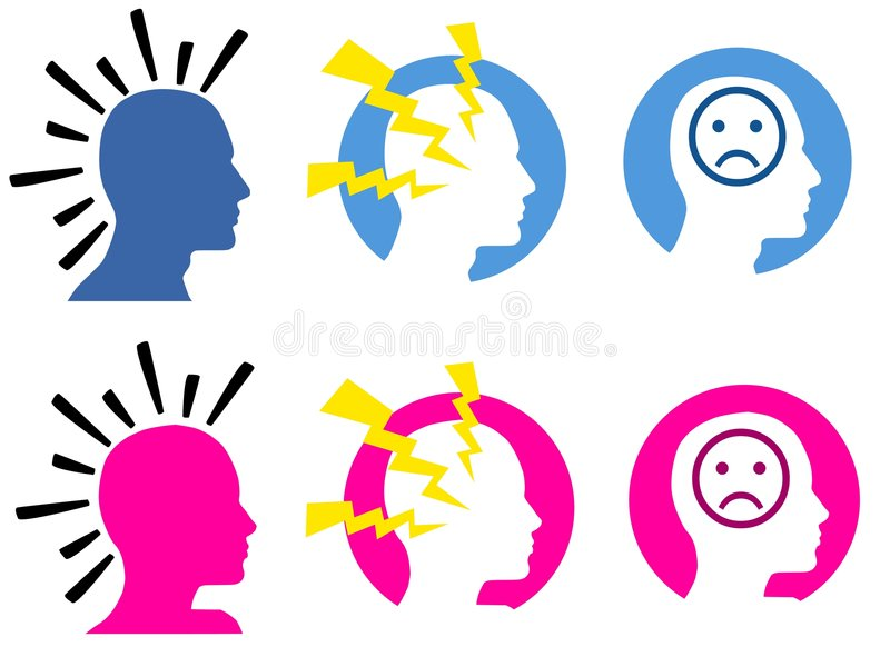 Download Headaches and Migraines stock illustration. Image of illustration - 5576472