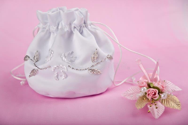 Headbag do casamento fotos de stock royalty free