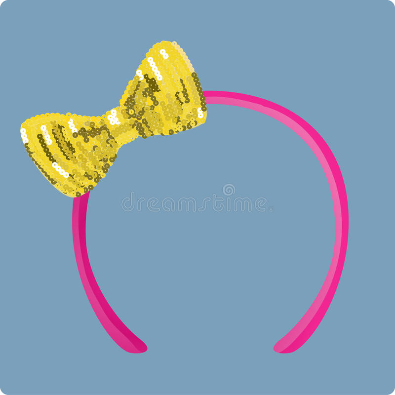 Headband stock image