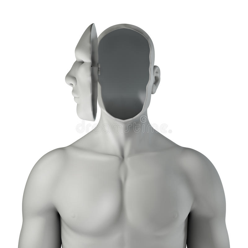 Download Headcase stock illustration. Image of depression, intellect - 24522101