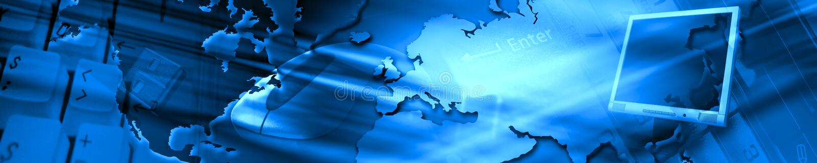 Header stock illustration