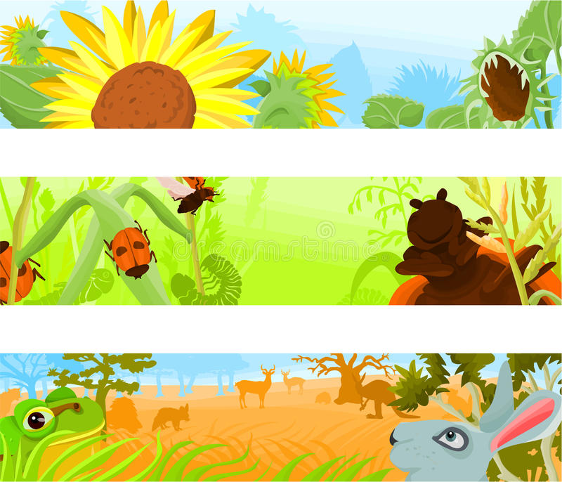 Download Header background 05 stock vector. Image of autumn, natural - 15948856