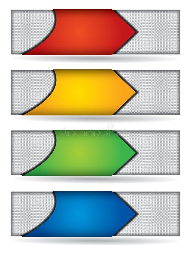 Header Or Banner Design Set Royalty Free Stock Image