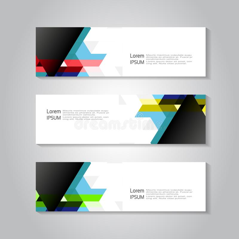 Header and banner template with color triangle background geometry download header and banner template with color triangle background geometry business concept for header accmission Images