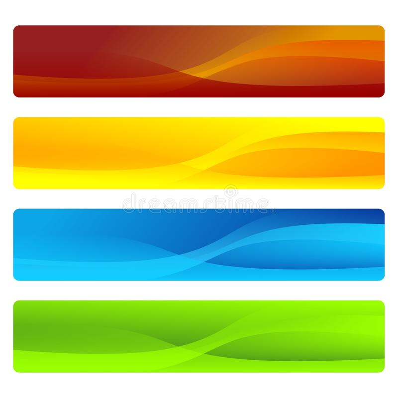 Headers Or Banners Royalty Free Stock Photos
