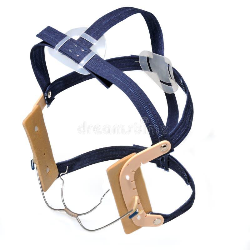 Headgear da cinta ortodôntica fotos de stock