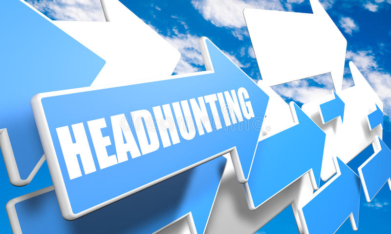 Headhunting stock image