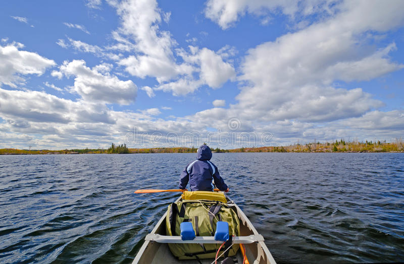Heading Out Onto Open Waters Royalty Free Stock Images