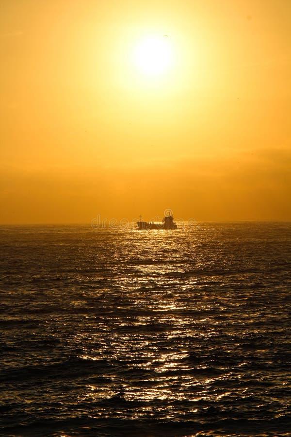 Heading out to sea stock photos