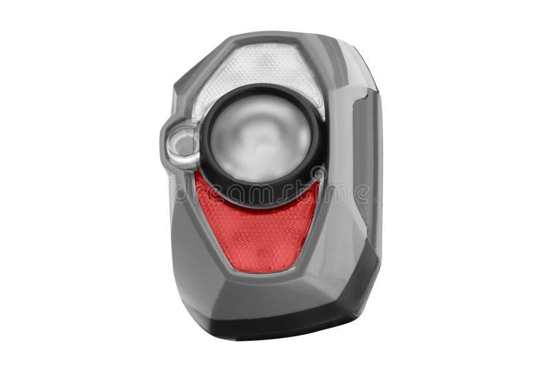 Headlamp latarka odizolowywająca na bielu zdjęcie stock