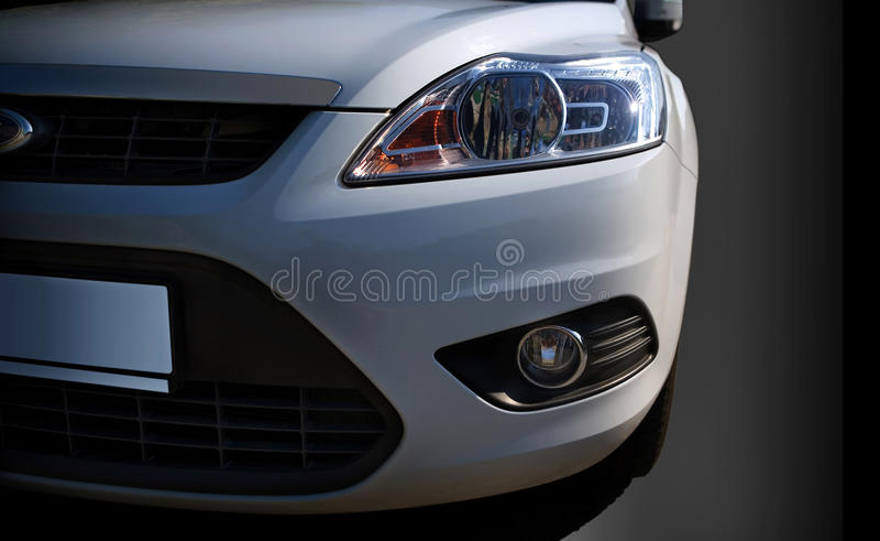 headlamps автомобиля стоковые изображения