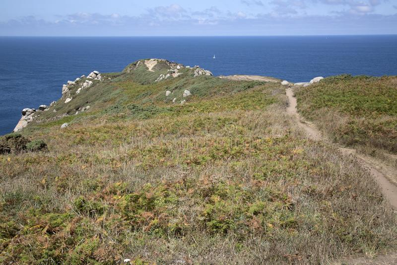 Headland at Estaca de Bares, Galicia. Spain royalty free stock photos