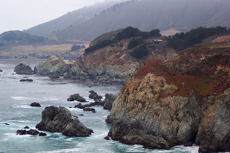 Download Headlands-Central California Stock Image - Image: 21531
