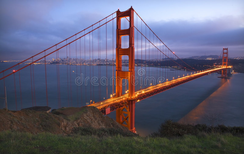 Headlands Golden Gate Bridge San Francisco royalty free stock photo