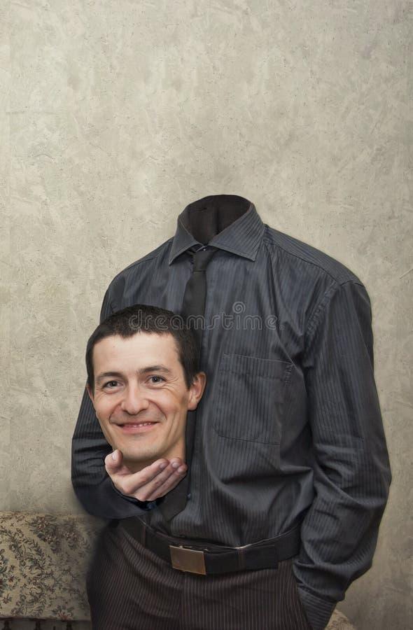 Headless επιχειρηματίας στοκ εικόνα με δικαίωμα ελεύθερης χρήσης