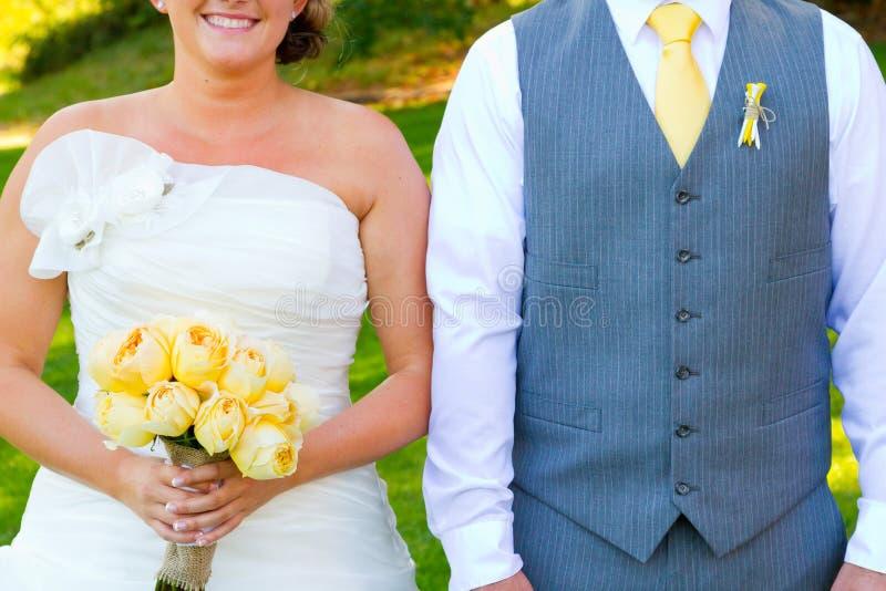 Headless νύφη και νεόνυμφος στοκ εικόνα