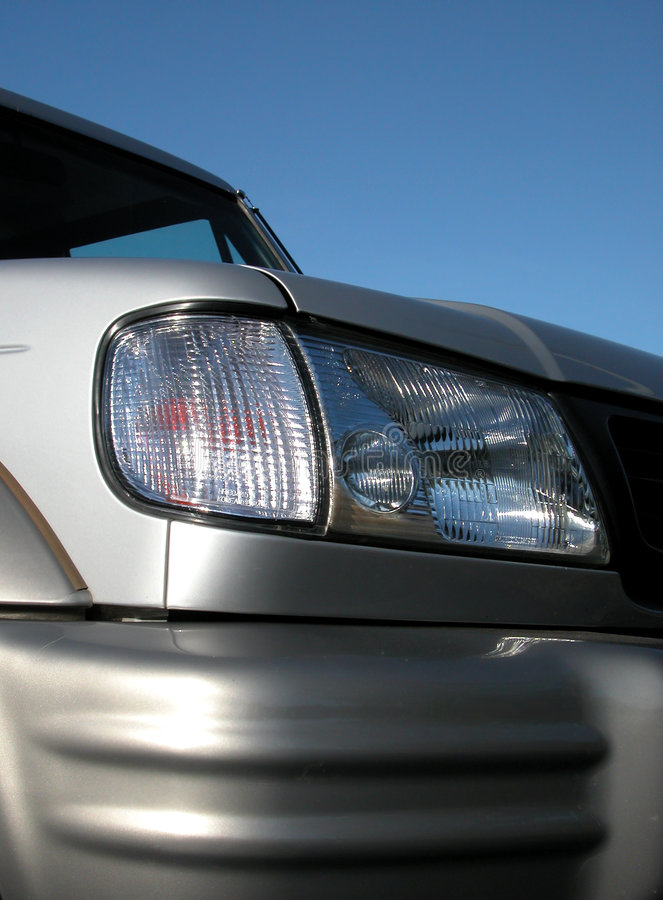 Download Headlight [1] stock image. Image of cars, grey, silver, auto - 22301