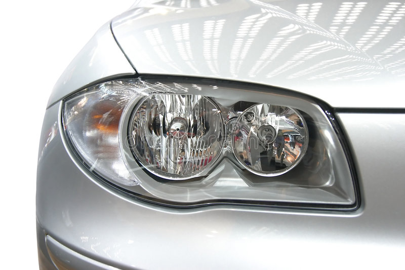 Download Headlight stock image. Image of fast, series, sharp, side - 1029139