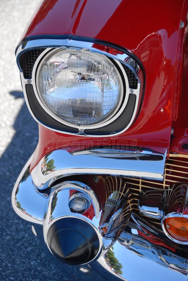 Download Headlight stock photo. Image of close, paint, classic - 16333646