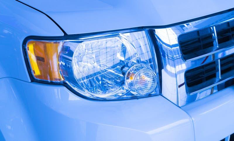 Download Headlight stock image. Image of light, modern, lamp, blue - 28674197
