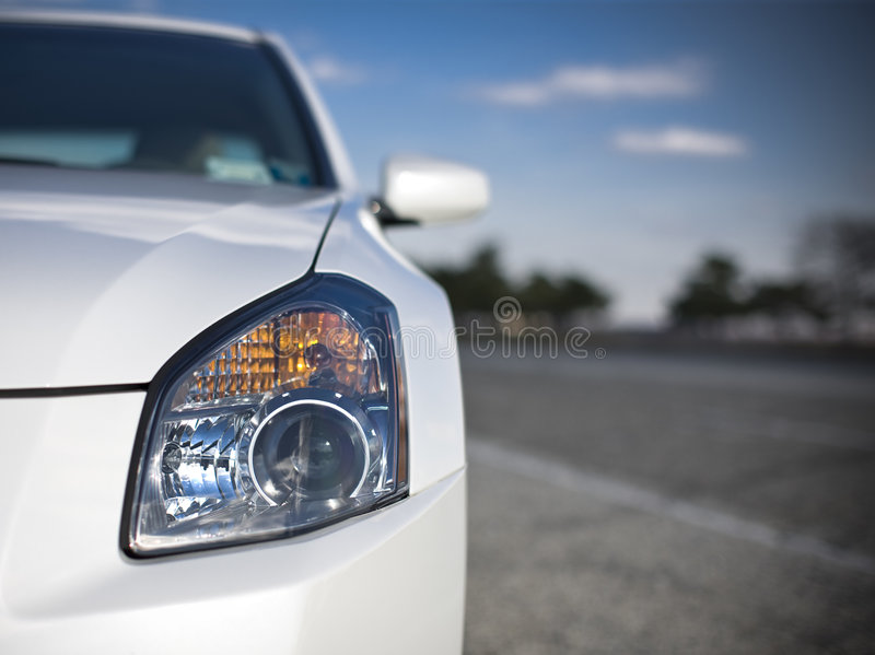 Download Headlight Stock Image - Image: 7196531
