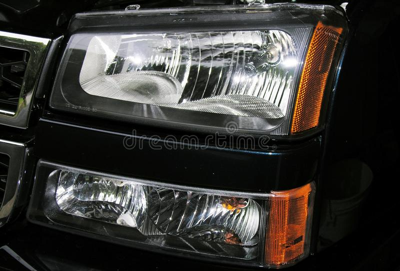 Download Headlight assembly stock image. Image of lenses, clear - 24089903