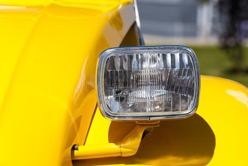 Download Headlight stock image. Image of close, design, image - 40253747