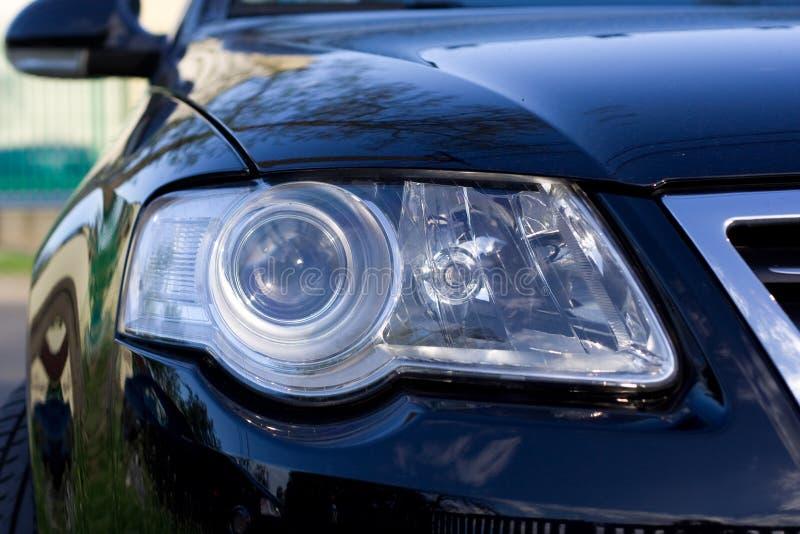 headlight of the car stock image