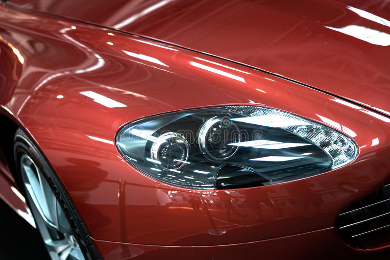 Headlight Of Car Stock Images