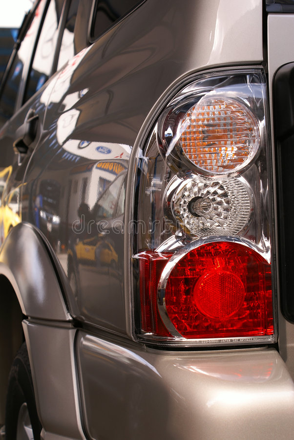 Free Headlight Close-up Stock Photo - 1900100