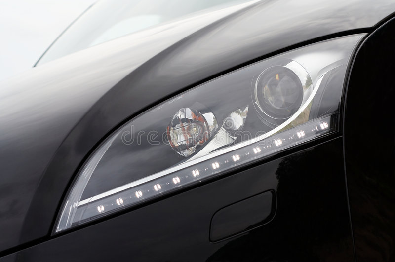 Download Headlight detail stock image. Image of beacon, close, beauty - 7734345