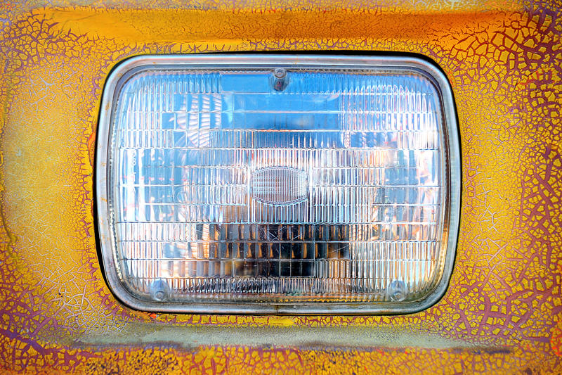 Download Headlight stock image. Image of reflection, tail, crack - 40311015