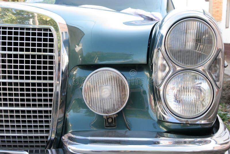 Headlight old car royalty free stock image