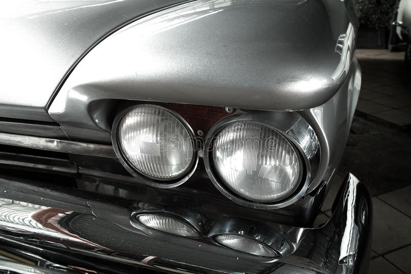 Headlight Old Car Stock Photos