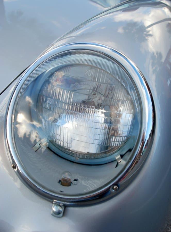 Headlight on sports car royalty free stock image