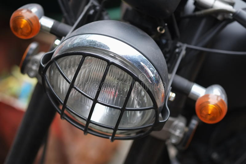 Headlights stock image