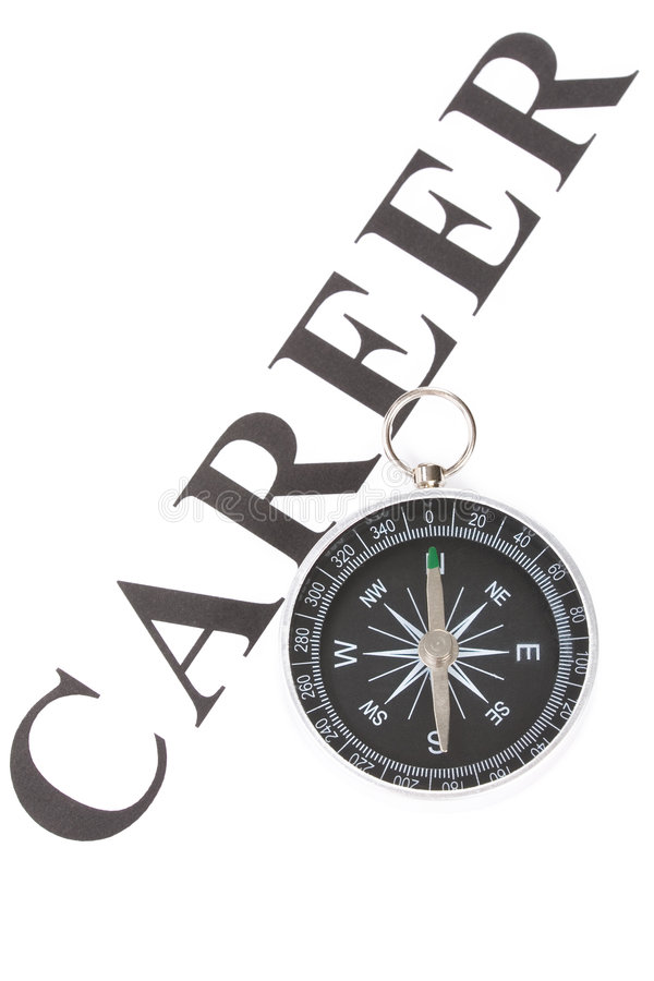 Download Headline Career And Compass Stock Photo - Image: 5379178