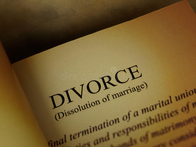 Download Divorce Book Royalty Free Stock Photography - Image: 22678367