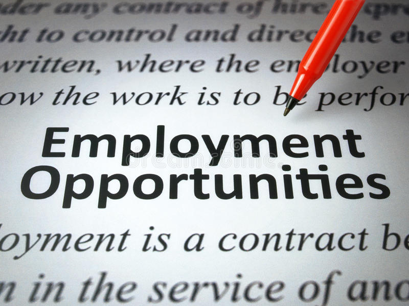 Download Employment opportunities stock image. Image of media - 22467083