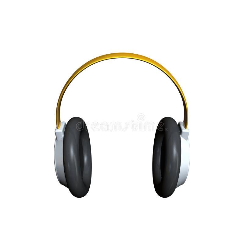 headphone royaltyfri illustrationer