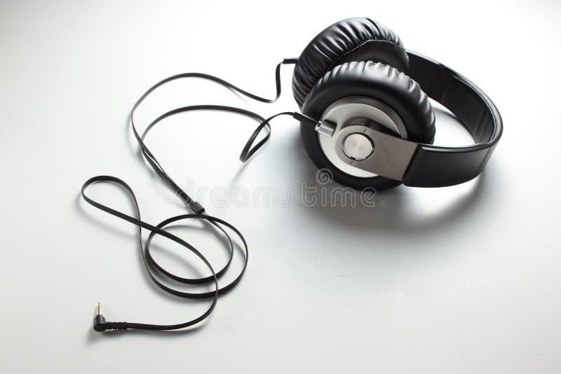 Headphone. Close up of a headphone royalty free stock photo