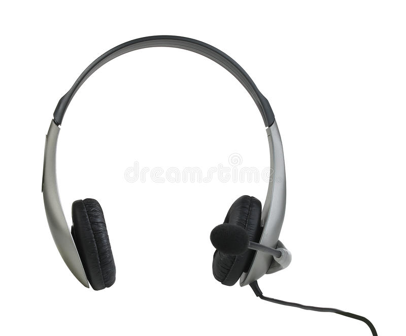 Headphone. On a white background with path royalty free stock photo