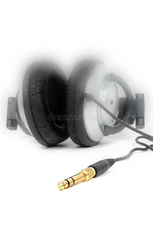 headphone arkivfoto