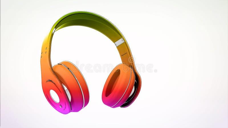 headphone ilustração do vetor