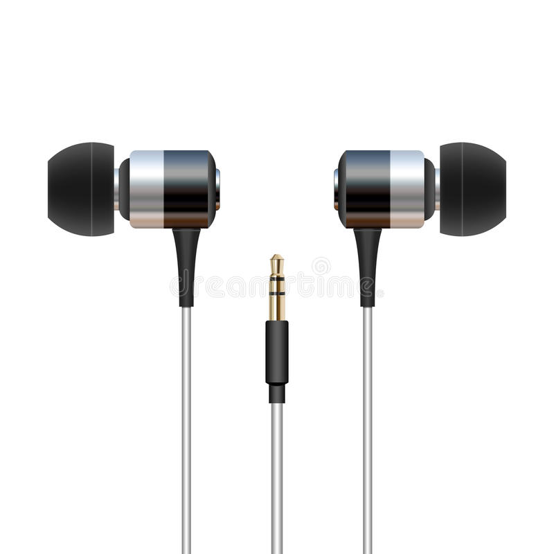 Download Headphone Ear Buds Stock Photo - Image: 27474930